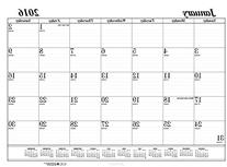 House of Doolittle 2016 Monthly Desk Pad Calendar Refill,
