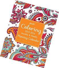 2016 Posh Coloring Planner Calendar