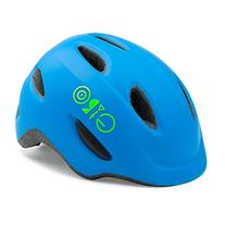 Giro Scamp Helmet - Kid's Matte Blue/Lime X-Small