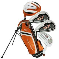 Ray Cook Golf 2017 Manta Ray 5-Piece Junior Set with Bag Orange
