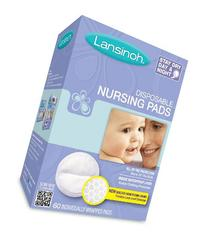 Lansinoh 20265 Disposable Nursing Pads, 8 Pack