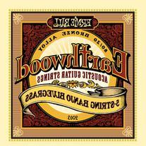 Ernie Ball Earthwood 5-string Banjo 80/20 Bronze Loop End