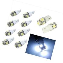20PCS T10 5050 5SMD White LED Car Light Wedge Lamp Bulbs
