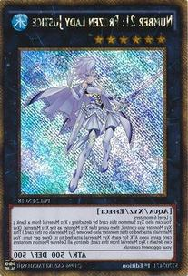 Yu-Gi-Oh! - Number 21: Frozen Lady Justice  - Premium Gold: