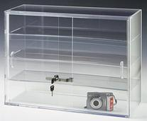 Displays2go 22 by 16-Inch Countertop Display Case with 3