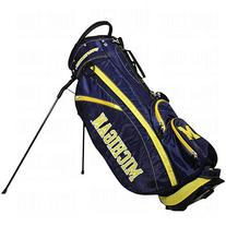 Michigan Wolverines Official NCAA Fairway Stand Golf Bag by