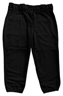 "Badger ""Big League"" Girls Softball Pants - Black - M"