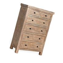 Sunny Designs 2307WB-C Durango Chest in Weathered Brown