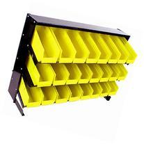 ADG 24 Bin Parts Storage Rack Trays, 1 ea