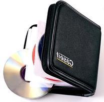 Case-It 24 disk CD/DVD Wallet Organizer Storage 2 pc Lot