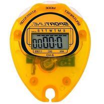Sportline 240 Econosport Stopwatch, Yellow