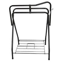 PARTRADE 248032/248031 Western Saddle Rack, 19 by 36 by 25