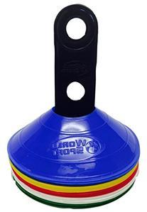 World Sport 25 Multi Color Disc Cone Set