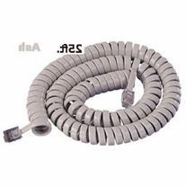Cablesys 2500AS GCHA444025-FAR / 25' ASH Handset Cord