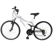 Mantis Orchid Full Suspension Mountain Bike, 26 inch Wheels