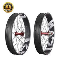 ICAN 26er Fat Tire Wheelset Carbon Clincher Tubeless Ready