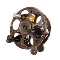 True Fabrications 2755 Gears And Wheels Bottle Rack