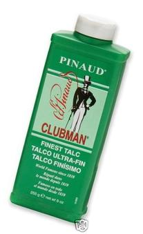 Clubman 276000 Pinaud Talc, white.,255g/9 OZ