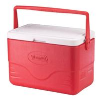 Coleman 28-Quart Cooler With Bail Handle, Red