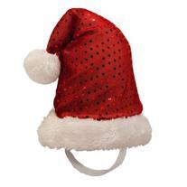 Outward Hound Kyjen  2815 LED Headband Adjustable Santa Hat
