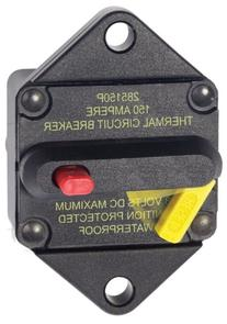 Blue Sea Systems 285-Series Panel Mount 150A Circuit Breaker