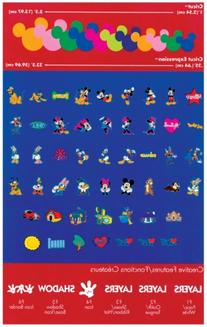 Provo Craft 29-0382 Cricut Licensed Shape Cartridge-Mickey