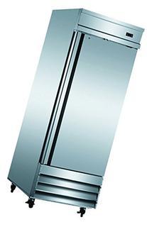 """29"""" Upright Stainless Steel Single 1 Door Commercial Freezer"""
