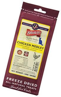 BRAVO 294128 Healthy Medley Chicken with Organs for Pets, 1.