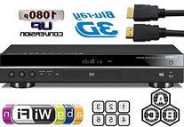 YAMAHA 2D/3D BD-S677 Wi-Fi Multi Region DVD Blu Ray Player