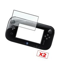 2x Clear LCD Screen Protector Film for Nintendo Wii U