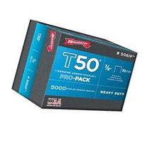 Arrow T50 Staples Manual 3/8 T50 Staples Box Of 5000