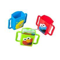 Evriholder Sesame Street Juice Box Holders, Elmo Big Bird &
