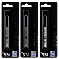 3 - Montblanc Ballpoint Pen Refills - Mystery Black - Broad