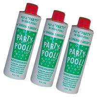 3 PACK - Party Pool Color Additive Green Lagoon 47016-00008