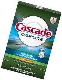 3 Pk, Cascade Complete Powder Dishwasher Detergent - 45 oz