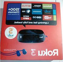 Roku 3, NEW 2014 Version, Model #4200rw, Includes Remote and