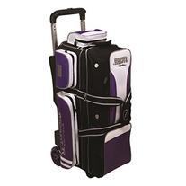 3 Ball Rolling Thunder Bowling Bag by Storm- Purple/Black/