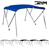 MSC Standard 3 Bow Bimini Boat Top Cover with Rear Support