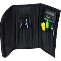 Case-it The 3 Fold Velcro Pencil Case, Blue, PLP-04-BLU