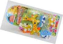 3-puzzle Animal Erasers, a Set of 3 Pieces, Collectable,