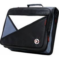 3-ring Zipper Binder Built in Padded Laptop Pocket