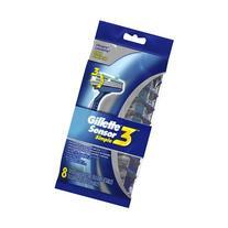 Gillette Sensor 3 Simple Men's Disposable Razors - 8 ea