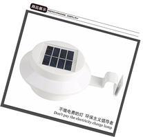 SHINA 3 LED Solar Powered Fence Gutter Light Outdoor Garden
