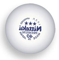 Premium 3-Star Balls Celluloid