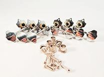3+3 Tuning Tuners Machine Pegs Heads Acoustic Butterbean