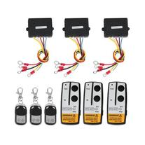 3 Wireless Winch Remote Control Kit 12V for Truck Jeep SUV