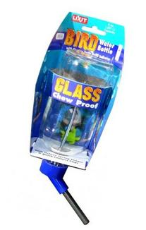 Lixit 30-0370-024 Glass Water Bottle for Birds and Small