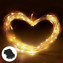 10ft Battery Powered 30 LEDs Fairy LED String Lights,