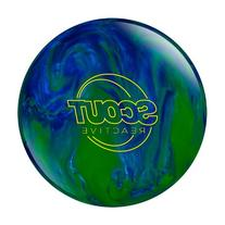 Columbia 300 Scout Bowling Ball, Blue/Green, 14-Pound
