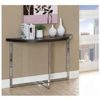 Monarch Specialties 3039 Sofa Console Table In Cappuchino,